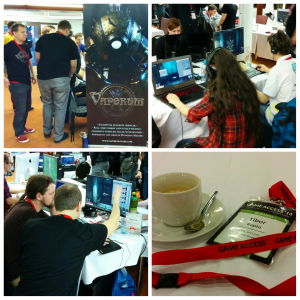 photo of fatbot games team on game access 2016 in brno