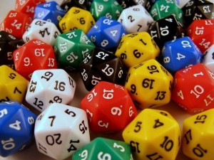 dice picture in vaporum article about randomness